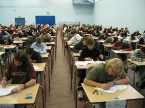 Writing part of the English 10 Provincials exam?