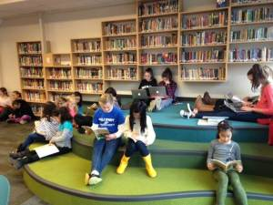 Students at West Bay Elementary School